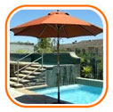 Garden & Poolside Umbrellas